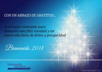 Nuestro saludo de feliz navidad 2017 y nuevo año 2018